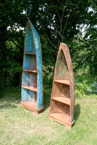 Half Boat Book Shelf