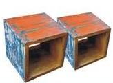 Boat Wood Cube