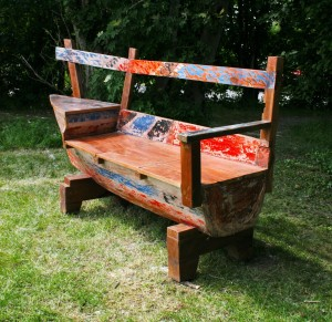 Half Boat Bench
