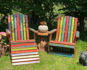 Steamer Garden Chairs